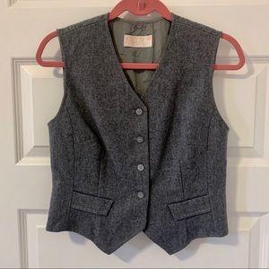 Pendleton Vintage gray wool vest